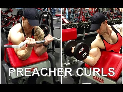 3 PREACHER CURLS THAT MADE MY BICEPS EXPLODE