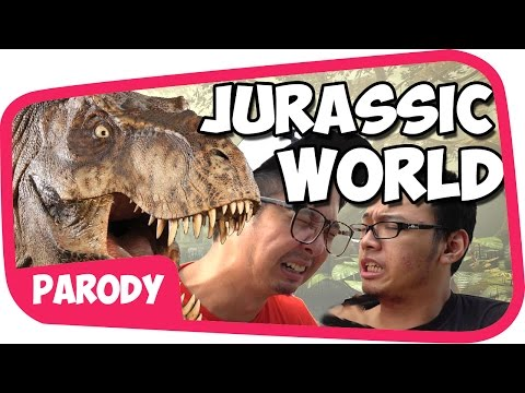 JURASSIC WORLD PARODI wkwkwk with Tara Arts n Gema Show