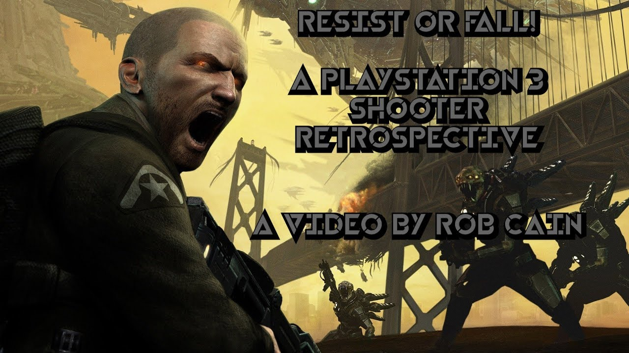 Download Resist or Fall! | A PlayStation 3 Shooter Retrospective