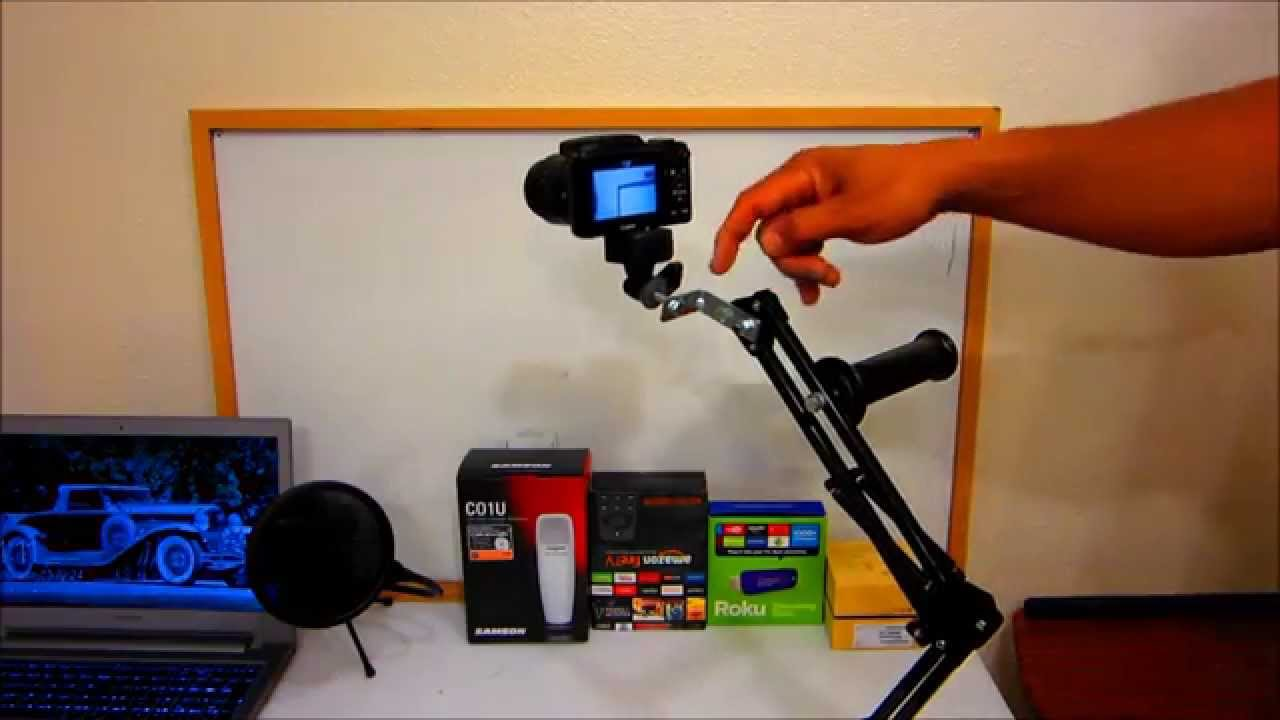 Diy Movable Camera Mount Youtube