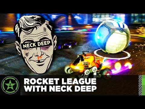 Let's Play - Rocket League with Neck Deep