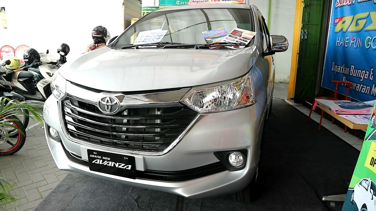 Grand New Avanza Warna Grey Metallic 2017 Harga Toyota 1 3 Mt Exterior And Interior Youtube