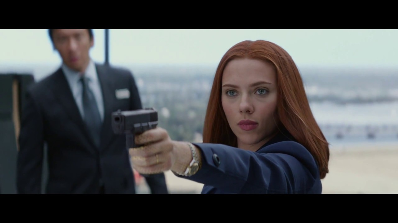 Black Widow transformation in Captain America The Winter Soldier ...