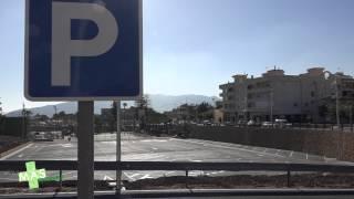 Operativo el nuevo parking junto al polideportivo municipal de l'Alfàs