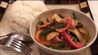 Cw Nana: Red Curry Chicken (ແກງແດງໄກ == Ghang Dang Ghai)