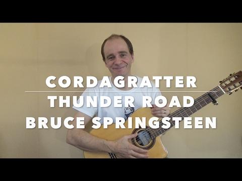 Thunder Road - Bruce Springsteen - Tuto guitare - Cordagratter