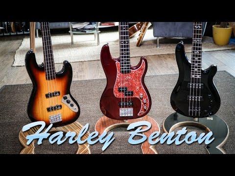 Harley Benton Basses  PJ-4 HTR  4:18 mn