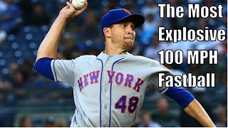 Jacob Degrom Showing Off His Fastball