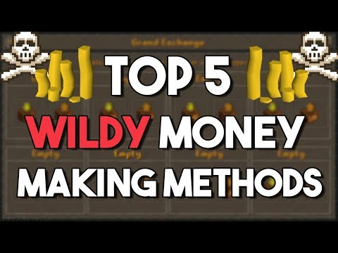 Top 5 Wilderness Money Making Methods (HIGH RISK)! - Oldschool Runescape Money Making [OSRS]