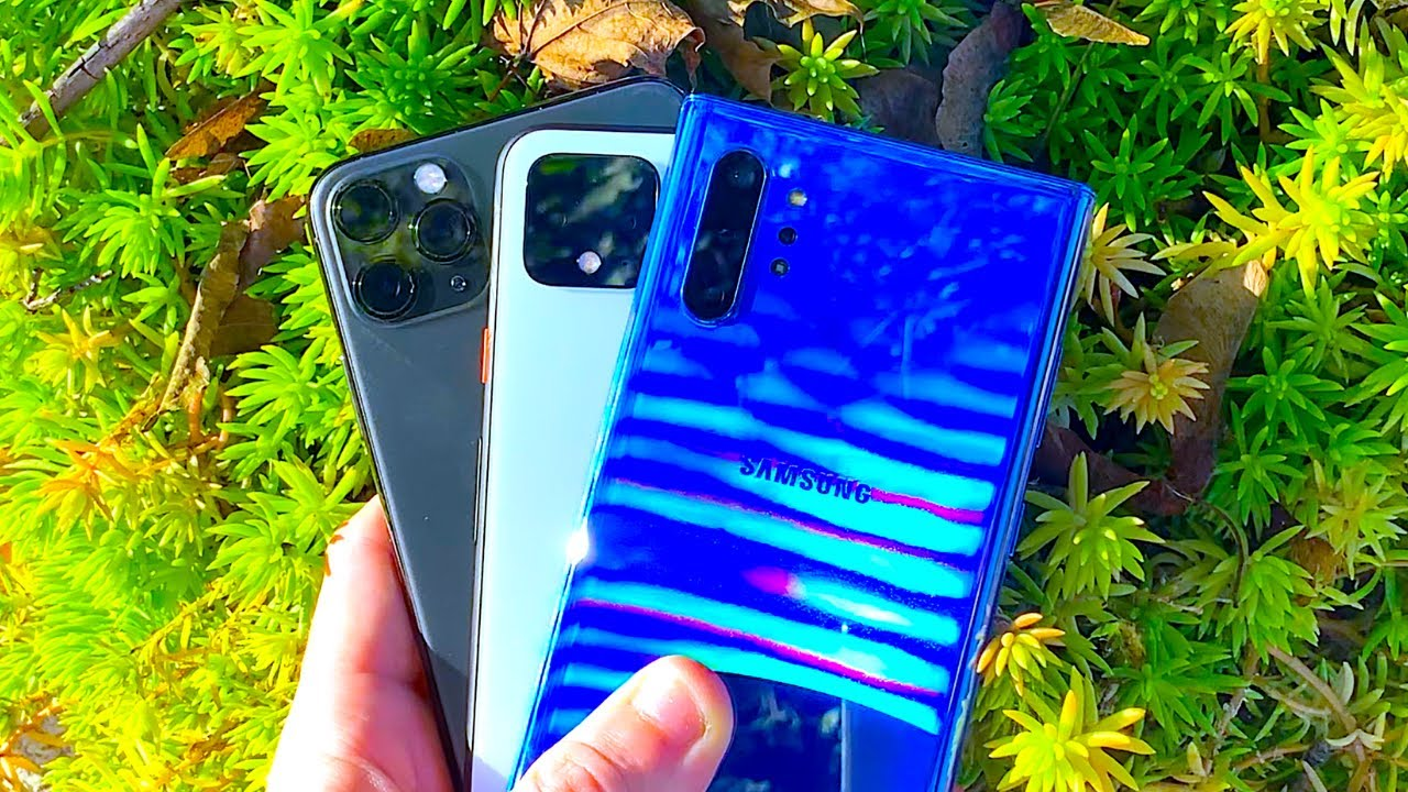 Photo of Galaxy Note 10 Plus vs iPhone 11 Pro Max vs Pixel 4 XL – ايفون