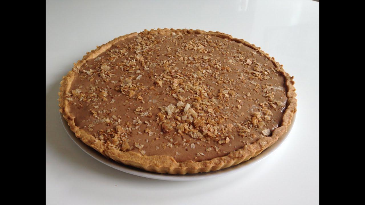 recette de la tarte la mousse au chocolat croustillante c cile lw youtube. Black Bedroom Furniture Sets. Home Design Ideas