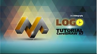(AVANZADO) TUTORIAL 23 Corel DRAW X7: LOGO 3D PROFESIONAL