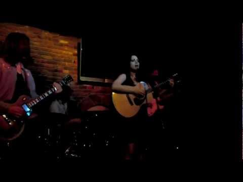 """Michelle Vidal and The Fur Traders """"Lord"""" @ Taix Lounge 321 Los Angeles CA 6-22-11"""