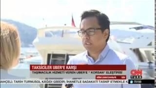 CNNTürk Uber Turkey 27 8 2015