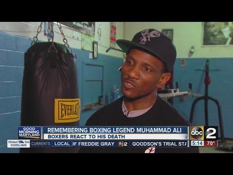 Local boxers remember Muhammad Ali