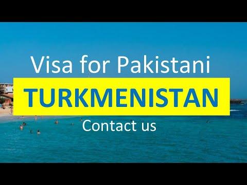 Turkmenistan Visa for Pakistani l Contact us
