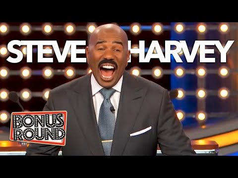 Funniest Steve Harvey Questions & Answers On Family Feud | Bonus Round