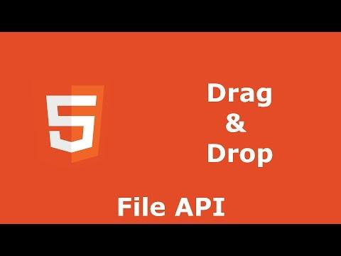 Drag and Drop (File API)