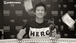 "888Live in London Champion Ka Him ""Hunt"" Li"
