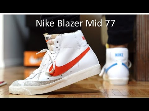 d7c309c528644 Nike Blazer Mid 77 Review/On-Feet - YouTube