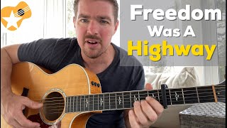 Freedom Was A Highway Jimmie Allen Brad Paisley Beginner Guitar Lesson - mp3 مزماركو تحميل اغانى