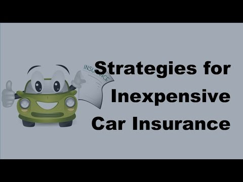 2017 Motor Insurance Tips  | Strategies for Inexpensive Car Insurance