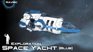 Space Engineers - Space Yacht (Blue)