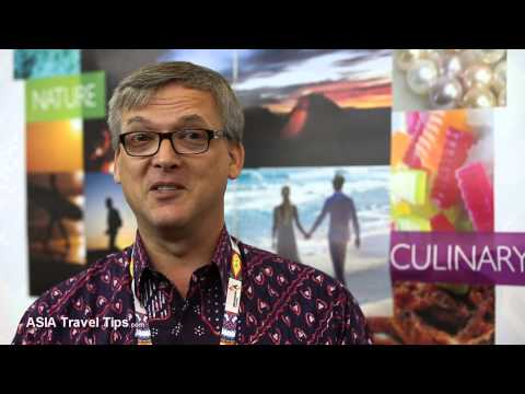 Lombok Tourism Update - Interview with Stephane Servin at ATF 2014 - HD