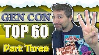 Top 60 Board Games At Gen Con 2019 | Part 3