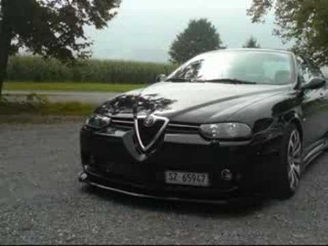 blackpearl my alfa romeo 156 2 5 v6 youtube. Black Bedroom Furniture Sets. Home Design Ideas