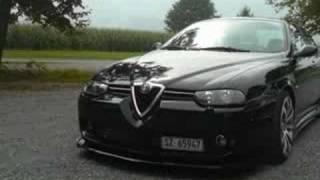 """ Blackpearl "" My Alfa Romeo 156 2,5 V6"