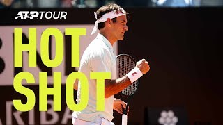 Hot Shot: Could Federer Be Getting Quicker With Age? | Rome 2019