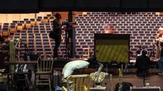 Une journée en timelapse au Théâtre du Crochetan