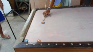 "philippines pool table ""trick shot"""