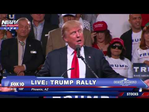 FULL: Donald Trump Phoenix Arizona Rally 6/18/16