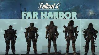 Fallout 4 Far Harbor Новая Броня