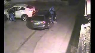Не смогли угнать BMW X6 Запись камеры видеонаблюдения(, 2014-08-29T08:25:51.000Z)