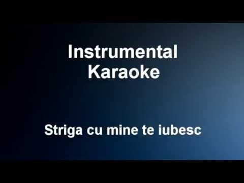 Striga cu mine te iubesc - Instrumental / Karaoke Ro - Vali Vijelie