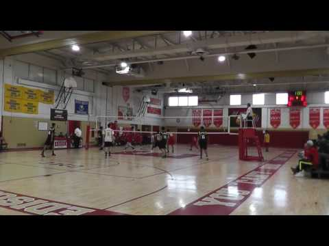 2016 Varsity volleyball selected game highlight