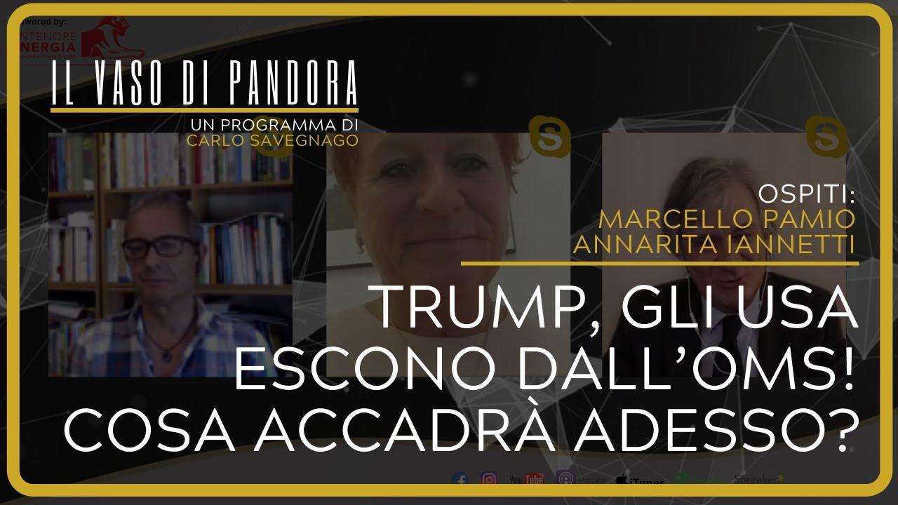 Trump, gli USA escono dall'OMS! Cosa accadrà adesso? - Marcello Pamio e Annarita Iannetti