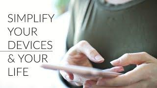 DIGITAL MINIMALISM   organize your phone + computer + simplify your life