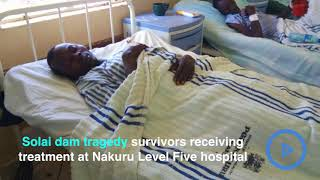 Solai dam tragedy victim speaks out