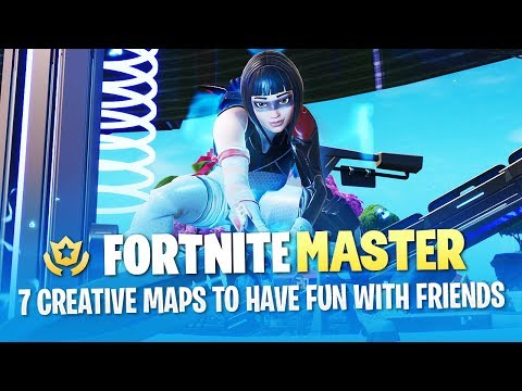 7 Creative Maps to Have Fun with Friends (Fortnite Battle Royale)
