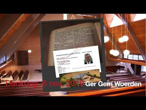 Bethlehemkerk Ger Gem Woerden  DANKDAG 2019a