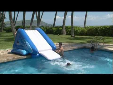 Intex Kool Splash Inflatable Swimming Pool Water Slide 58851EP