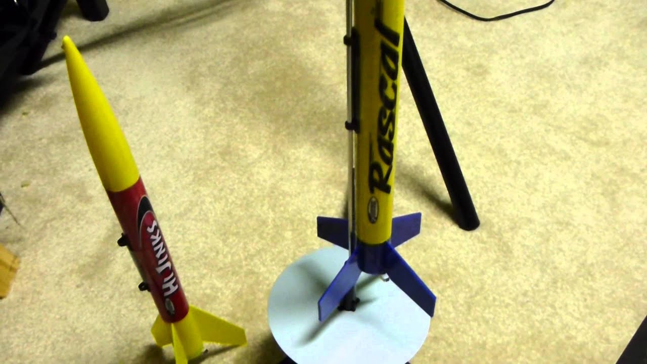 Estes Rascal & Hi Jinks Model Rocket Launch Set Review