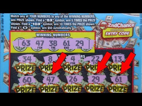 "WINS!!..featuring *NEW* ""CASINO RICHES"" Lottery Ticket Scratch Off!!"