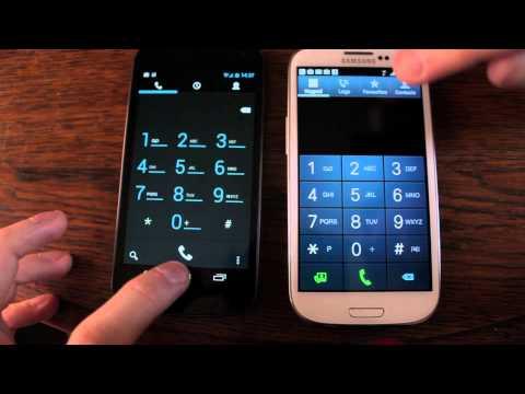 Jelly Bean Android 4.1 VS Ice Cream Sandwich 4.0.4