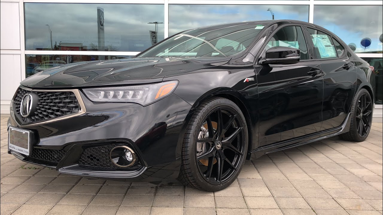 2020 Acura Tlx Base A Spec In Depth Video Walk Around Youtube