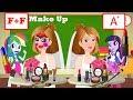 Equestria Girls And Best Friends Learn Make Up Bride Teacher Funny Story - Zilo Funkiz